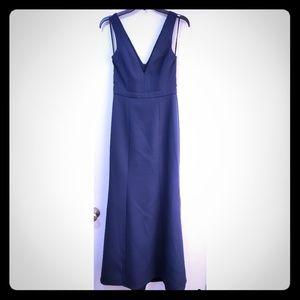 BCBG MAX AZRIA size 0 navy blue formal dress